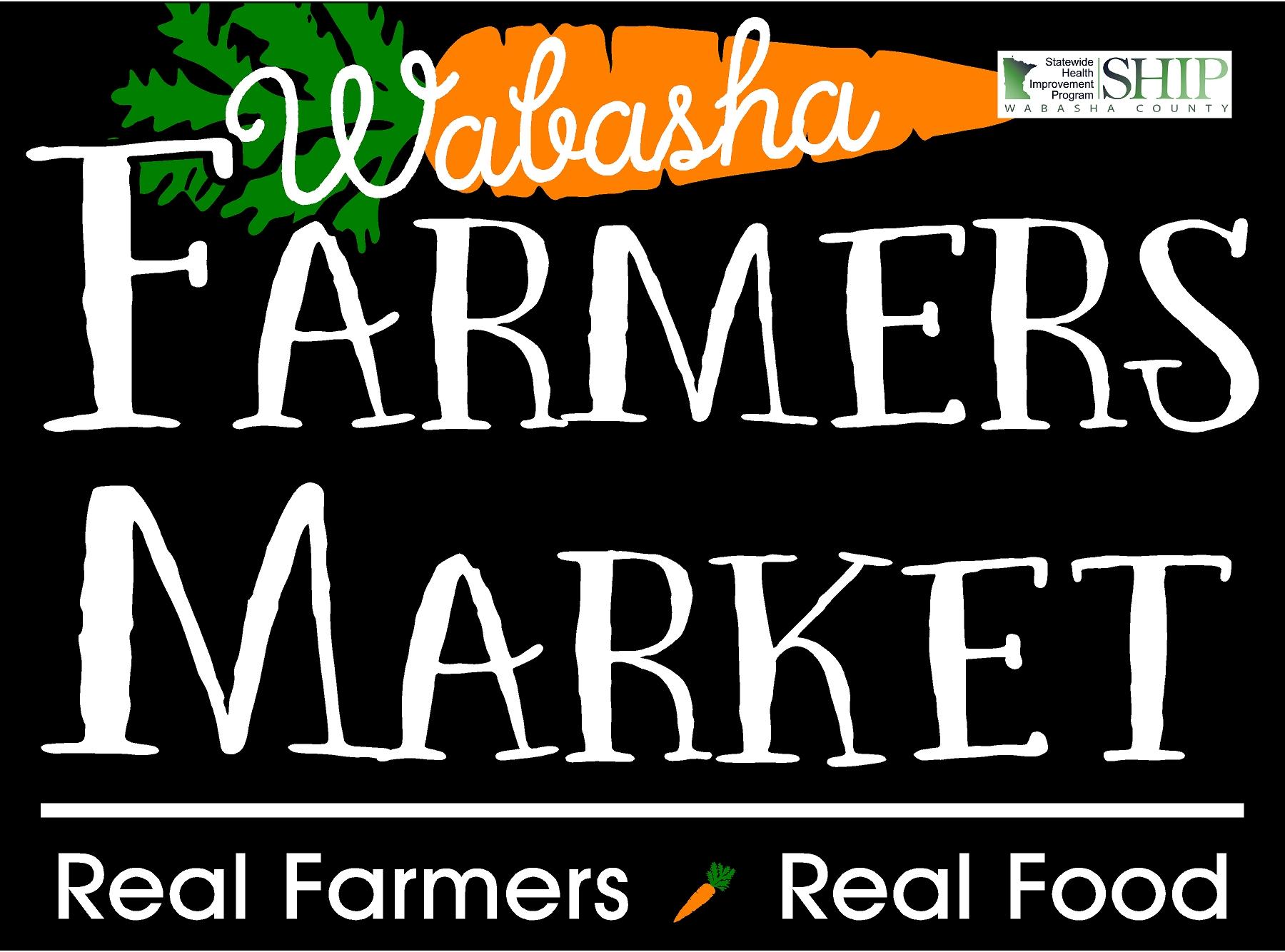 Wabasha farmers market logo