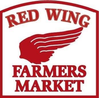 Red Wing farmers market logo